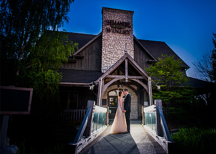 Bellamere Winery London Ontario Wedding Venue Rustic Barn Romantic