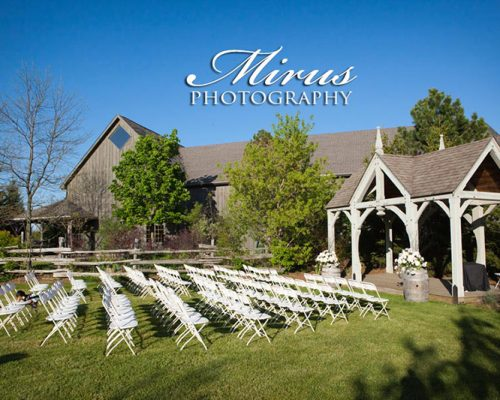 Bellamere Winery London Ontario Wedding Venue Gazebo Ceremony Outdoor Ceremony Rustic Elegance Wine Barrels Winery Ceremony Rustic Wedding