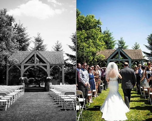 Bellamere Winery London Ontario Wedding Venue Gazebo Ceremony I DO romantic vintage outdoor ceremony Londons Best Ceremony Location Love Knots Photography