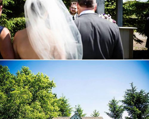 Bellamere Winery London Ontario Wedding Venue Love Knots Photography Gazebo Ceremony LOVE Romantic London's Best Wedding Venue First Look