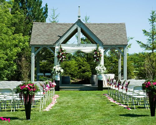Bellamere Winery London Ontario Wedding Venue HRM Photography Gazebo Ceremony Rustic Ceremony Barn Elegance Outdoor Ceremony I DO