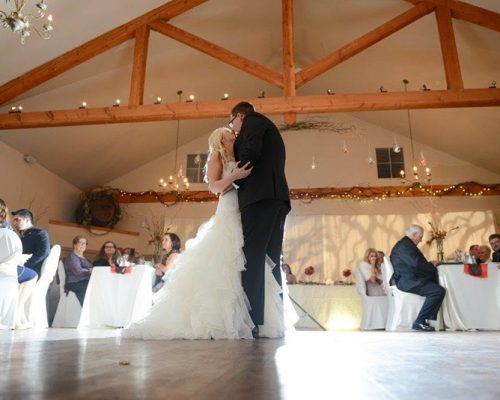Bellamere Winery London Ontario Wedding Venue Rustic Barn Venue First Dance First Kiss Romantic Love