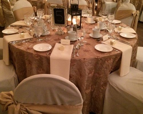 Bellamere Winery London Ontario Wedding Venue Winter Wedding Blush Decor Lanterns Reception Hall Rustic Vintage Barn Chalk Boards