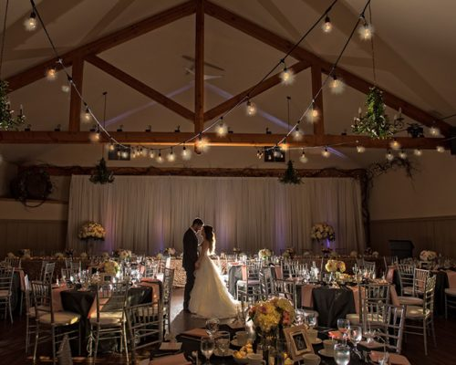 Bellamere Winery London Ontario Wedding Venue First Look One-12 Photography Gray and Blush Decor First Kiss Love Backdrop Twinkle Lights Vintage Rustic Decor