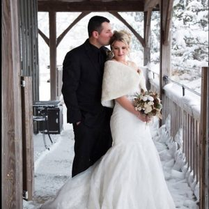 Bellamere Winery London Ontario Wedding Venue Winter Wedding Snow Romantic Wedding Venues Barn Wedding Rustic Wedding Snow Love
