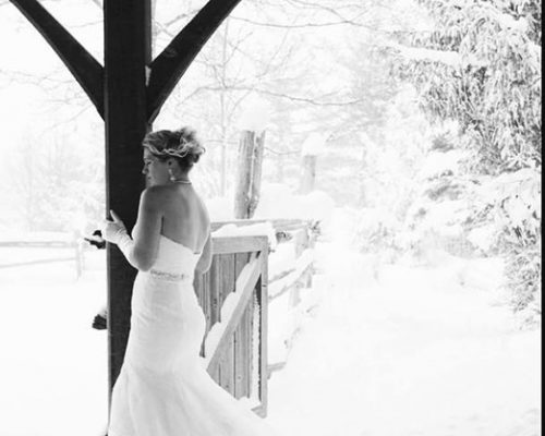 Bellamere Winery London Ontario Wedding Venue Winter Wedding Vintage Rustic Wedding Venue Barn Wedding London Ontario Snow