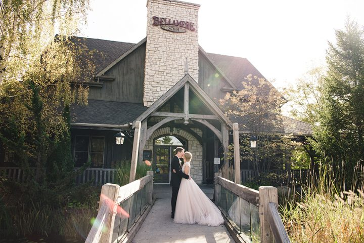 Bellamere Winery London Wedding Bridge