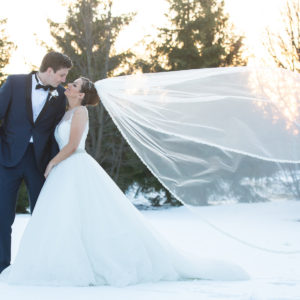 London Ontario Wedding Destination Winter Snow Ideas