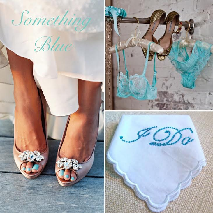 10 Creative Ways To Wear \'Something Blue\' On Your Wedding Day ...