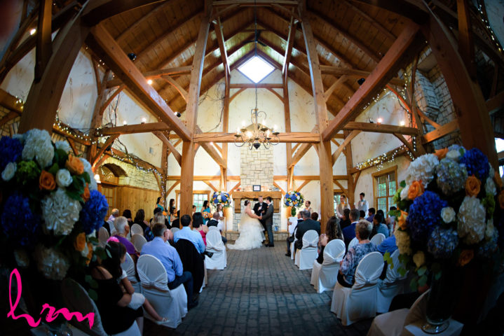 London Ontario Wedding Venue Ceremony Chapel Barn Winery