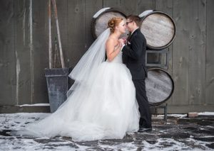 London Ontario Wedding Venue Winter Winery Barn Wedding