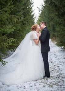 London Ontario Wedding Venue Winter Photography