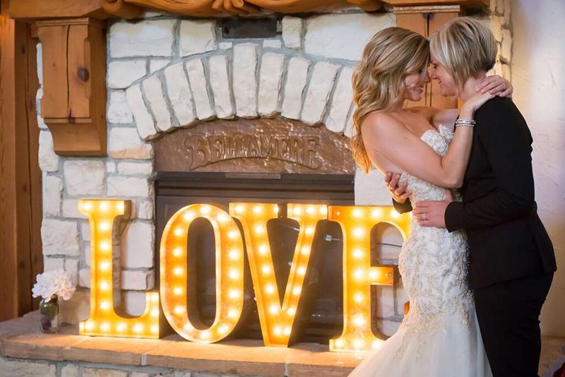 Bellamere Winery London Ontario Wedding Venue Rustic Barn Love Same Sex Wedding Gay and Lesbian Wedding Venue