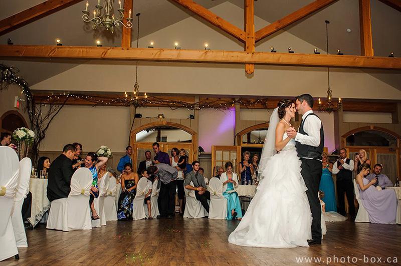 Bellamere Winery London Ontario Wedding Venue Rustic Barn elegant First Dance White Dress Romantic