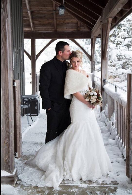 Bellamere Winery London Ontario Wedding Venue Winter Wedding Snow Romantic Wedding Venues Barn Wedding Rustic Wedding Snow Love