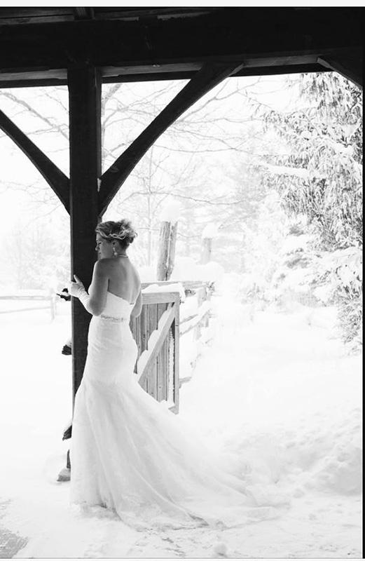 Bellamere Winery London Ontario Wedding Venue Winter Wedding Vintage Rustic Wedding Venue Barn Wedding London Ontario Snow
