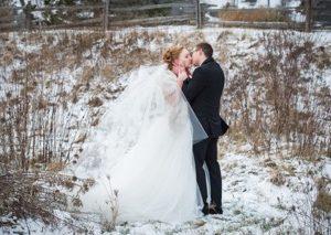 London Ontario Wedding Venue Elegant Outdoor Winter Photography