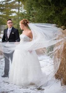 London Ontario Wedding Venue Rustic Vintage Winter Wedding