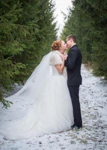 London Ontario Wedding Venue Winter Photography