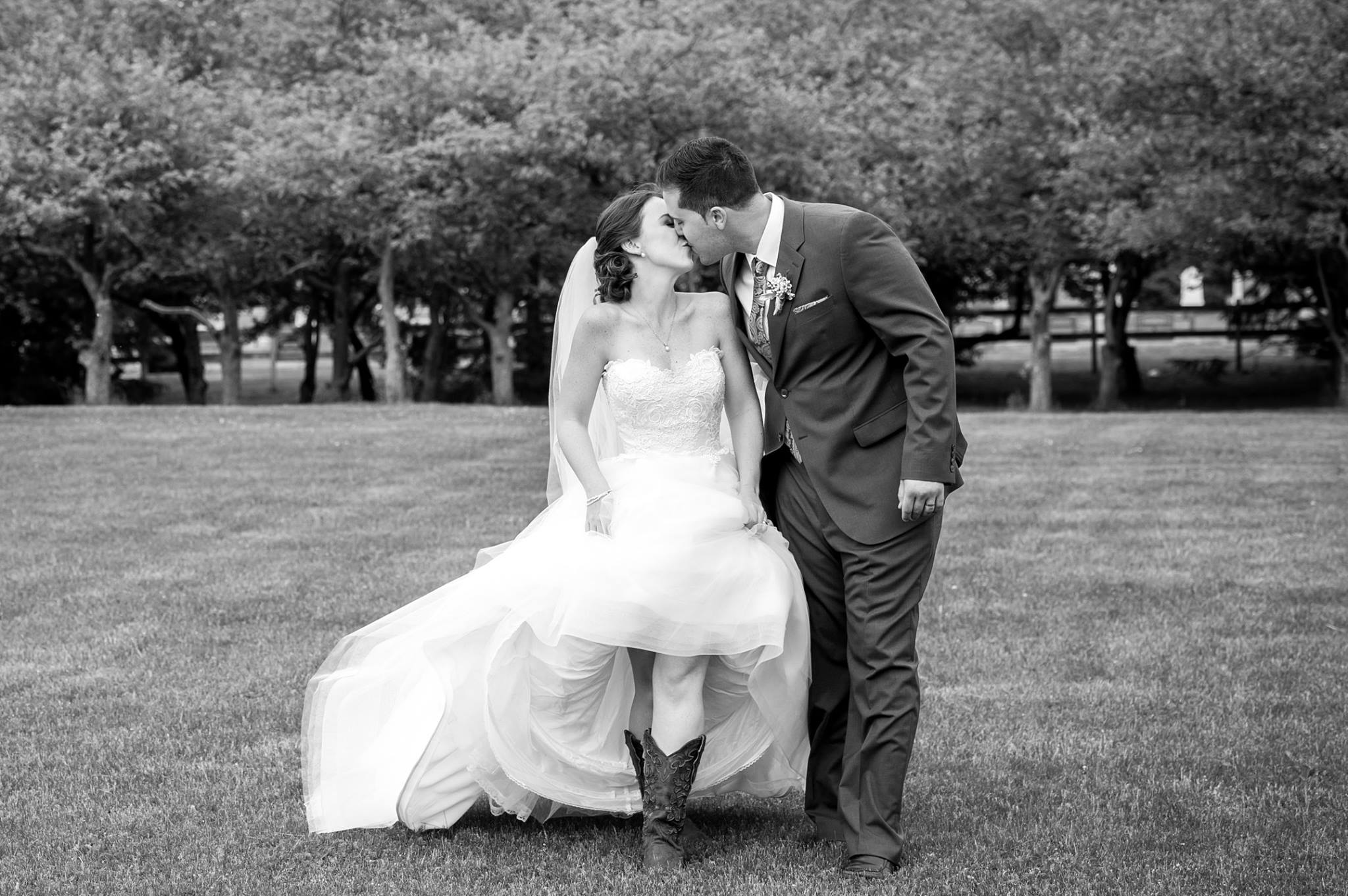 Married Couple Kissing